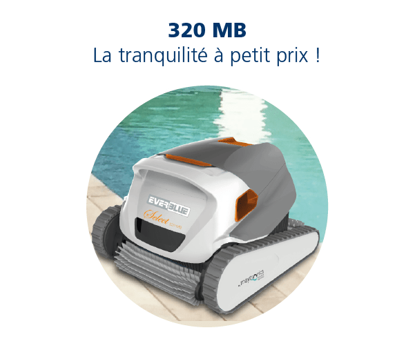 EVERBLUE_Robot 320 MB Nettoyage piscine