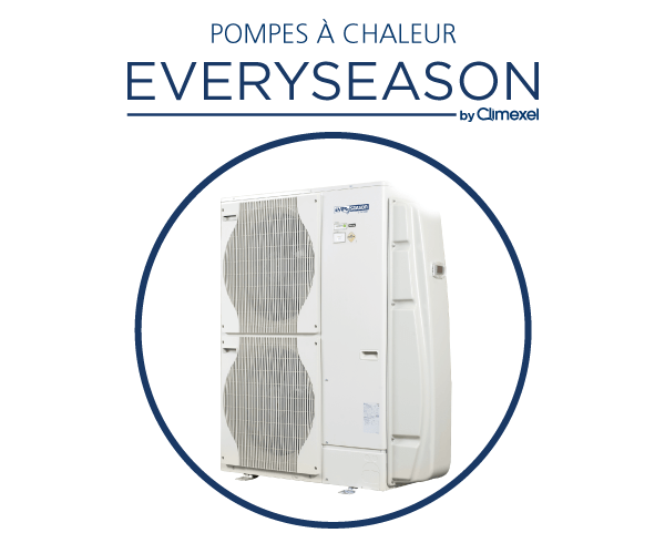 EVERBLUE EVERYSEASON_Pompe a chaleur_Chauffage piscine
