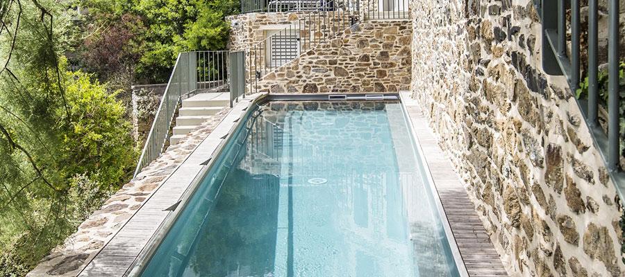 everblue r alisation d 39 une piscine couloir de nage dinard. Black Bedroom Furniture Sets. Home Design Ideas