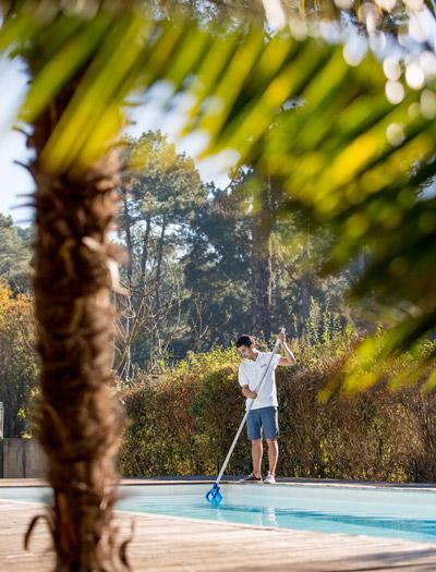 Everblue l printemps ouverture de la piscine les conseils everblue - Remise en route piscine apres hivernage passif ...