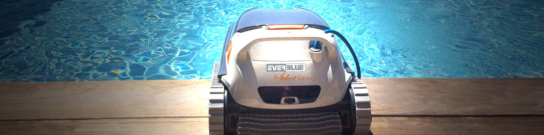 EVERBLUE_Nettoyage piscine robot nettoyeur